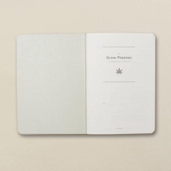 Grow Planner - Inside Cover