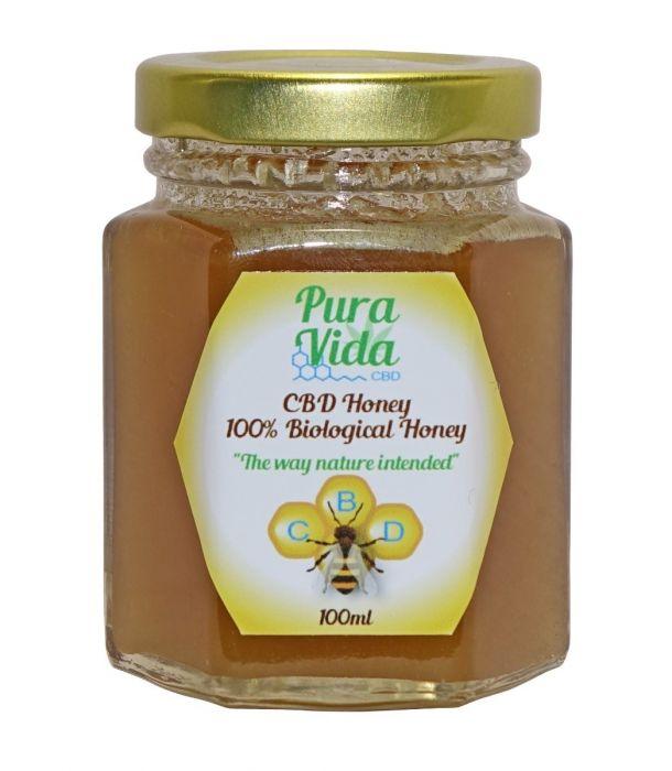 CBD Raw Honey