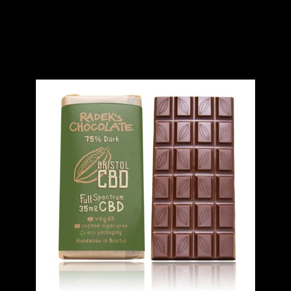 Radek CBD Chocolate Front