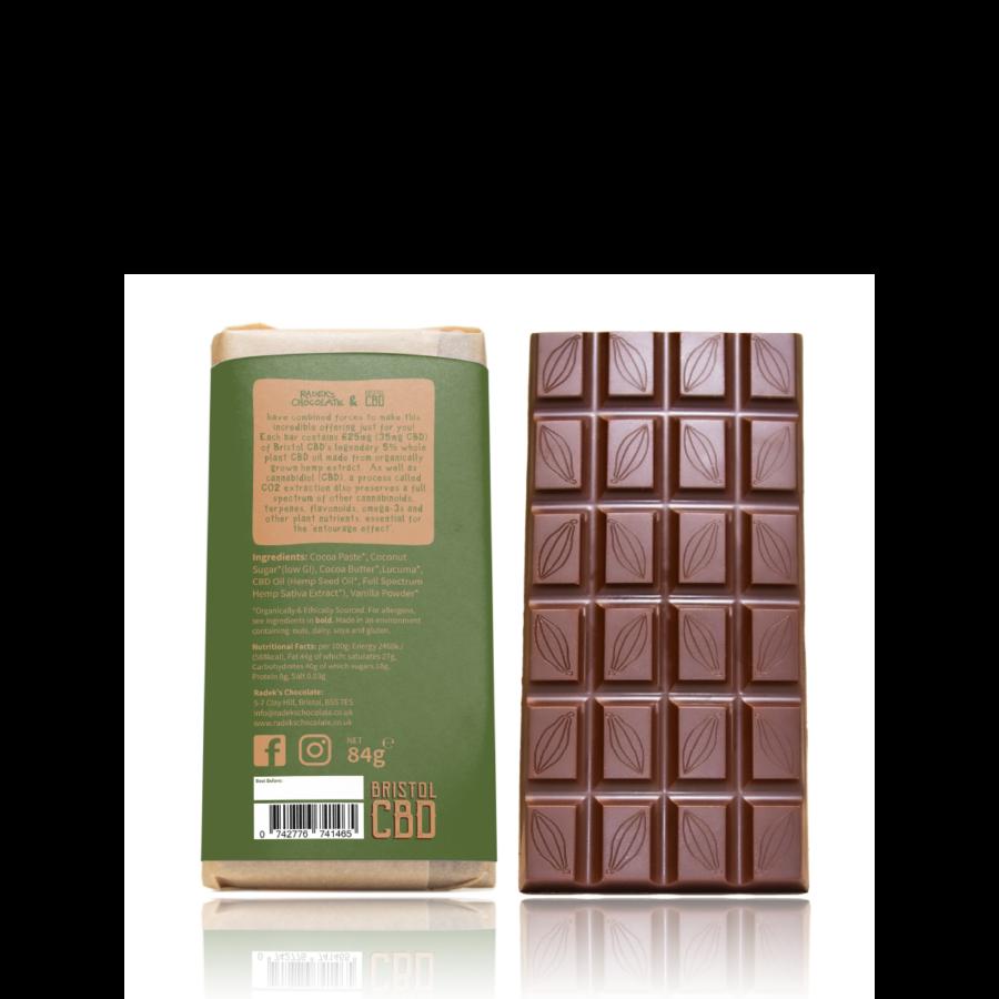 Radek CBD Chocolate Back