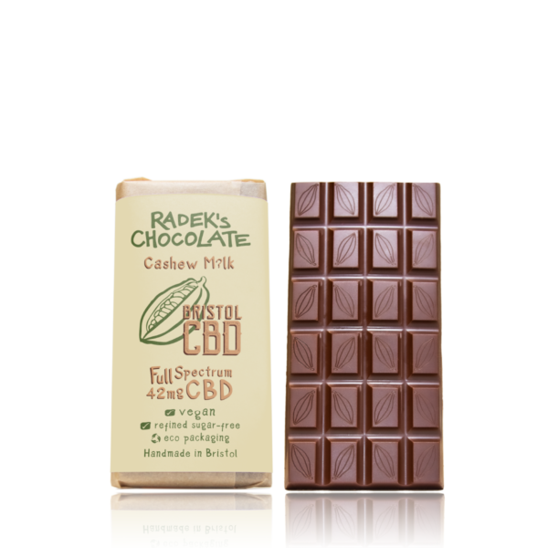 Radek CBD Cashew Chocolate Front
