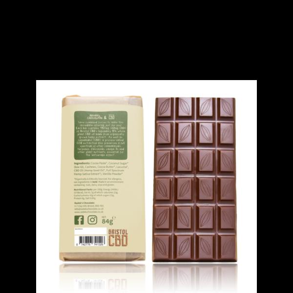 Radek CBD Cashew Chocolate Back